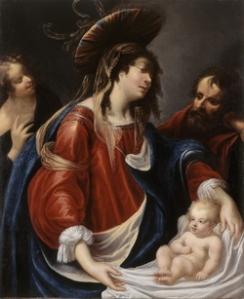 La Sainte Famille, Georges Lallemant, vers 1600